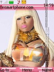 Скриншот темы Nicki Minaj