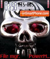 Skull 04 es el tema de pantalla