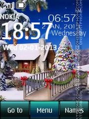 Winter Home and Tree theme screenshot