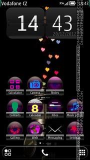 Heart Abstract 01 theme screenshot