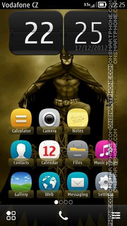 Batman 12 theme screenshot
