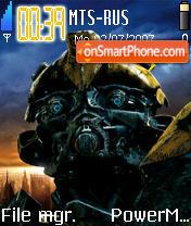 Transformers Movie theme screenshot
