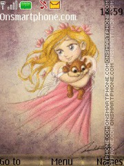 Princess theme screenshot