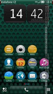 Green Circle fp1 es el tema de pantalla