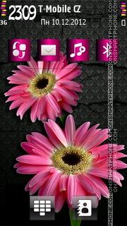 Pink Sonata theme screenshot