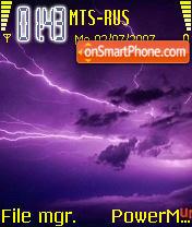 Storm 2 Standart es el tema de pantalla