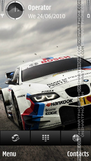 BMW DTM theme screenshot