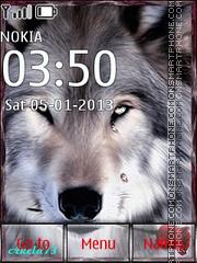 Wolf love theme screenshot