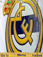 Real Madrid theme screenshot