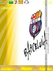Barcelona tema screenshot