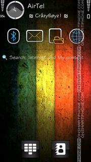 5 Colors HD es el tema de pantalla