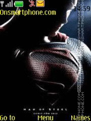 Скриншот темы Superman