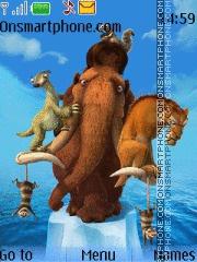 Скриншот темы Ice Age 4 01