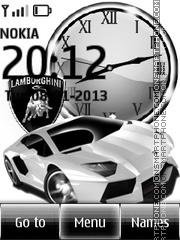 Lamborghini tema screenshot