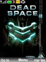 Dead Space theme screenshot