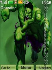 Hulk theme screenshot