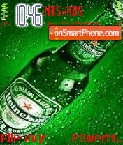 Heineken 01 theme screenshot
