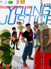 Young Justice theme screenshot