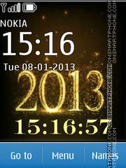New gold logo 2013 Theme-Screenshot