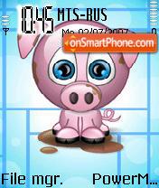 Pig theme screenshot