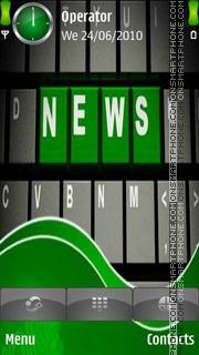 News Logo theme screenshot
