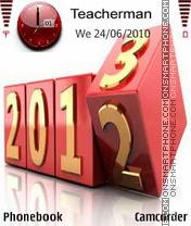 3D Cubes 2013 theme screenshot