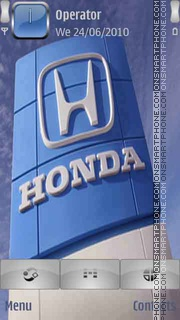 Honda logo theme screenshot