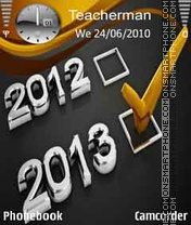 Check mark 2013 theme screenshot