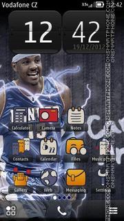 Carmelo Anthony theme screenshot
