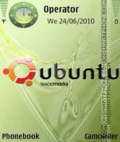 Ubuntu Green theme screenshot
