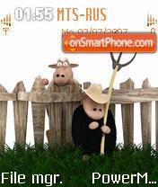 Peasants Sheeps es el tema de pantalla
