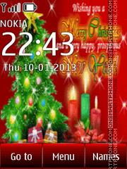 Скриншот темы New Year and Merry Christmas