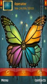 Colours Butterfly es el tema de pantalla
