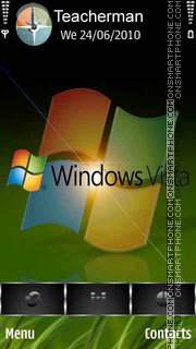 Windows Vista tema screenshot