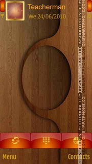 Wooden Design es el tema de pantalla