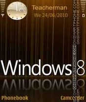 Windows-8 theme screenshot
