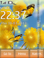Dandelions theme screenshot