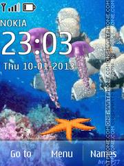 The underwater world theme screenshot