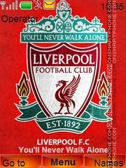 Скриншот темы Liverpool Reds
