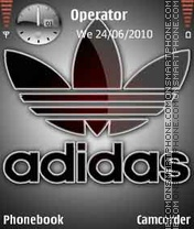 Adidas-Logo theme screenshot