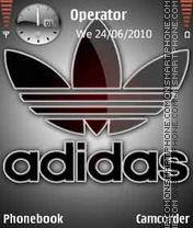 Скриншот темы Adidas-Logo