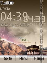 Hajj 01 theme screenshot