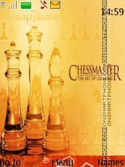 Chess Master es el tema de pantalla