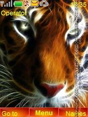 Tiger Face es el tema de pantalla