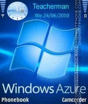 Скриншот темы Windows Azure