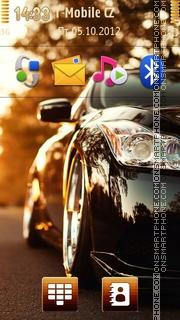 Infiniti G37 tema screenshot