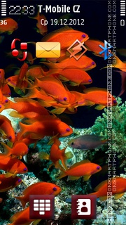 Red Fish v5 theme screenshot