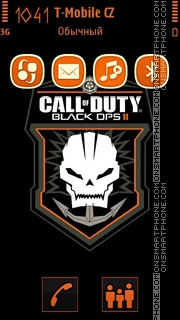 Call Of Duty: Black Ops 2 tema screenshot