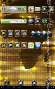 Golden World Theme-Screenshot