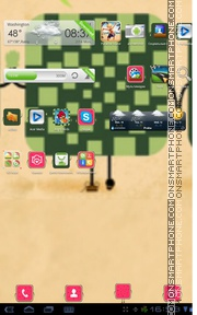Watermelon 01 theme screenshot